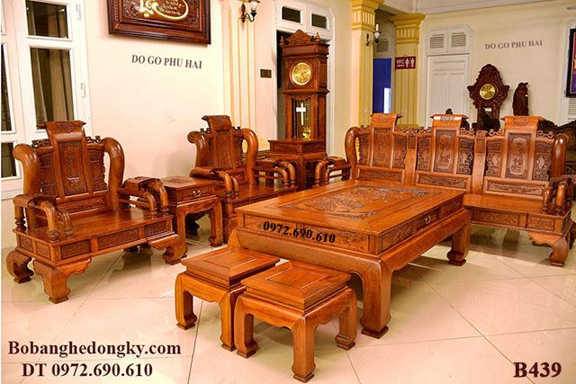 Bộ Bàn Ghế Đẹp Giá Rẻ Dành Cho Mọi Gia Đình B439