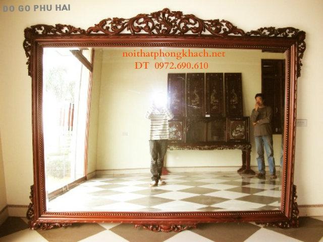 Gương treo tường ,Gương trang trí GT08