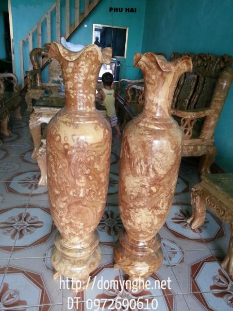 Lộc bình gỗ Nu Nghiến LBN01