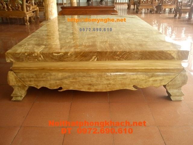 Sập gỗ Nu nghiến, Gỗ Ngọc nghiến SN01
