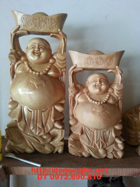 Quà tặng tân gia Phật Di Lặc Gỗ Pơ Mu DL6