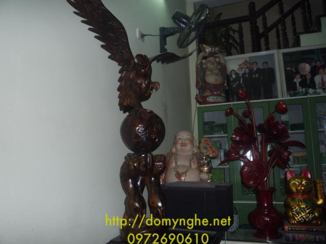 Đồ trang trí phòng khách Đại bàng đứng ĐB37