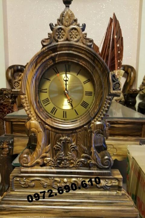 Đồng hồ để bàn đẹp quà tặng cho lãnh đạo DH83