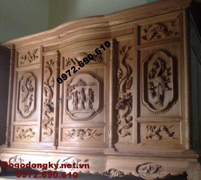 Tủ Thờ Gỗ Gụ, Gỗ mít, Gỗ hương Do Go Dong Ky TT41