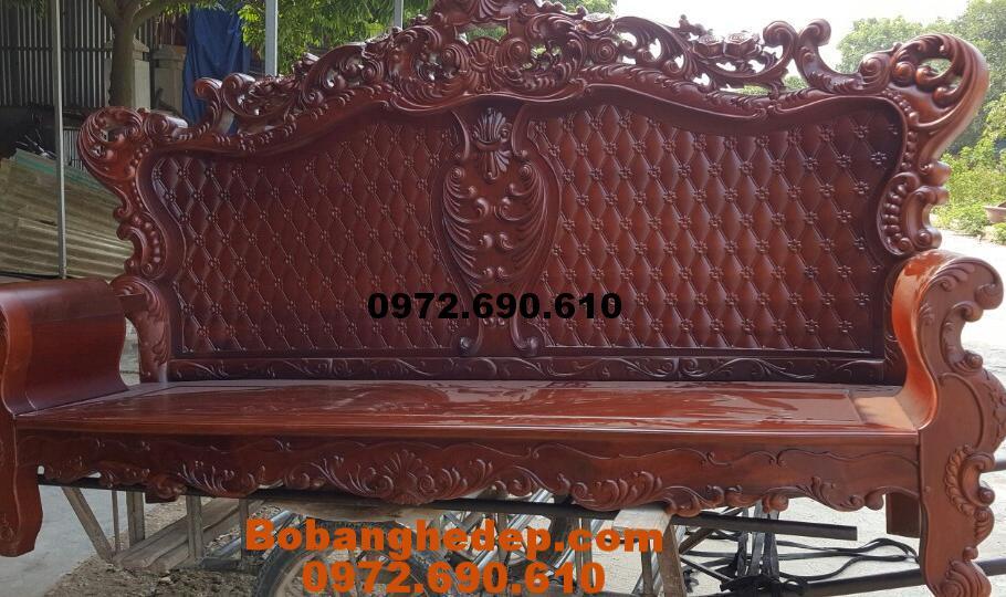 Bộ Sofa Đẹp, Bộ Bàn Ghế Phòng Khách Kiểu Châu Âu B210