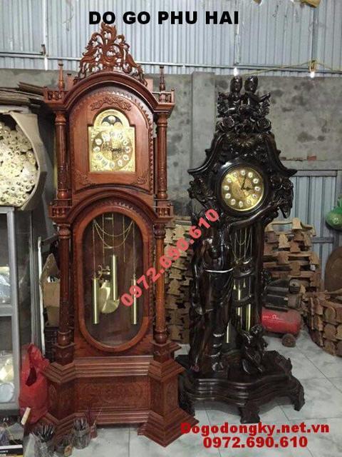 Đồng hồ để phòng khách quà tặng về nhà mới DH97