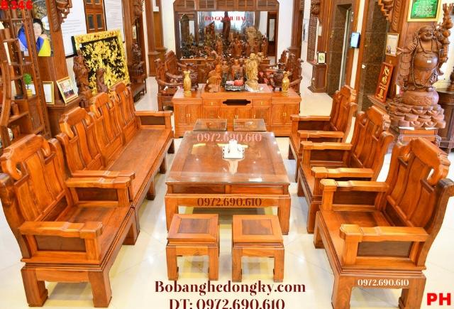 Nơi Bán Bộ Bàn Ghế Phòng Khách Đẹp Tại Thanh Hóa B346