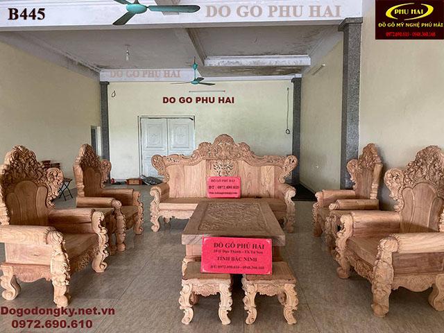 Nơi Bán Bộ Bàn Ghế Hoàng Gia Mẫu Đẹp Giá Tốt Nhất B445