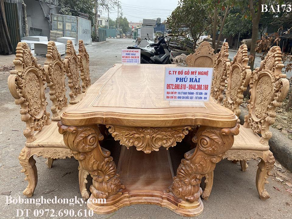 Bộ Bàn Ghế Ăn TO NHẤT – KHỦNG NHẤT – ĐẸP NHẤT Việt nam...